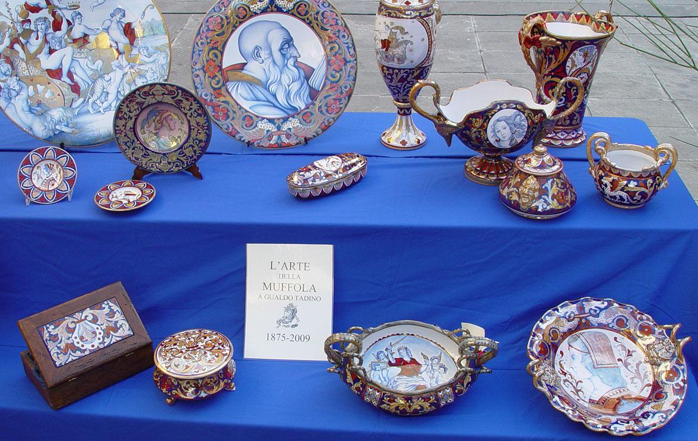 Ceramica riflesso oro rubino - Gualdo Tadino