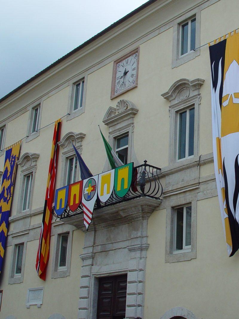 Palazzo municipale Gualdo Tadino