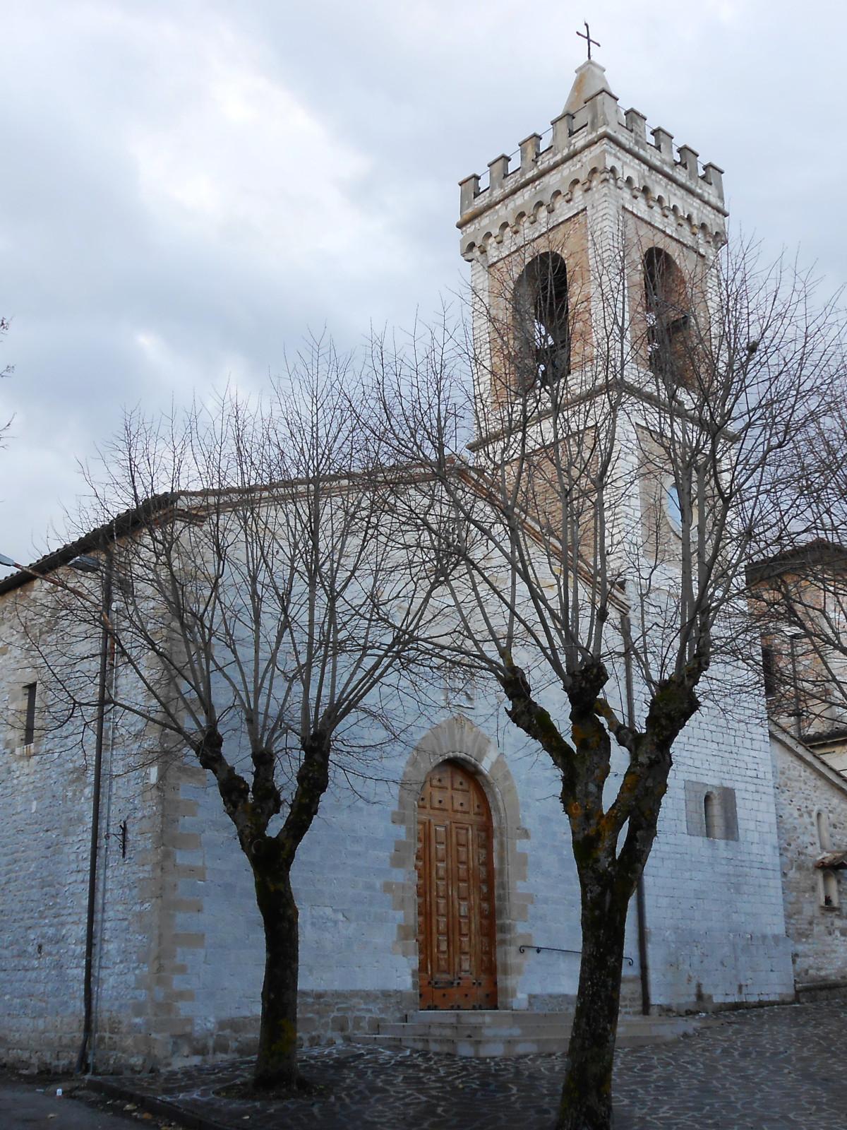 Chiesa San Pellegrino - Gualdo Tadino